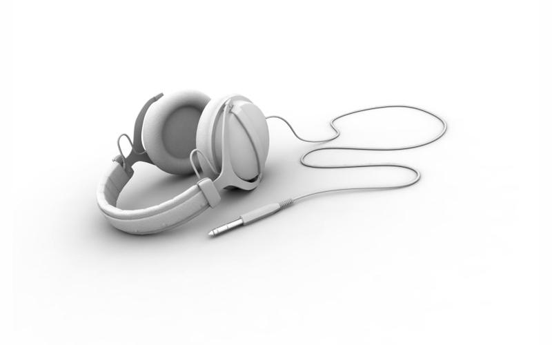 headphones music white background 1680x1050 wallpaper_www.wallpaperhi.com_46