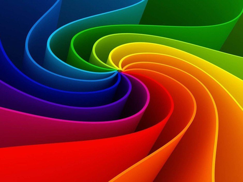 Abstract Rainbow Colours Wallpapers 5