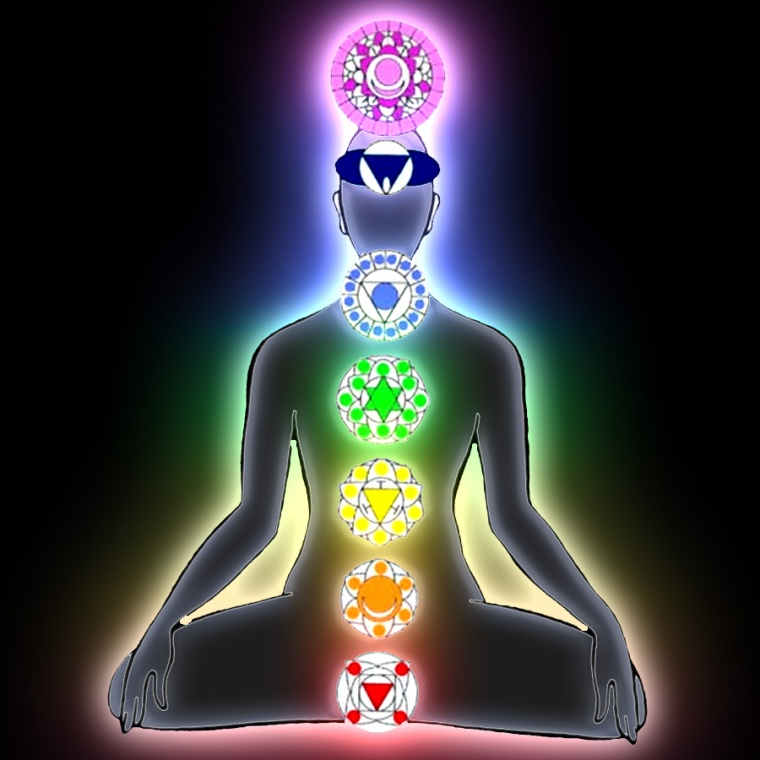 Chakras-in-Lotus