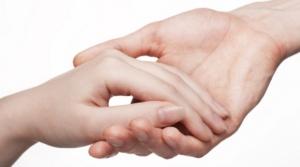man_woman_touching_hands_28513700