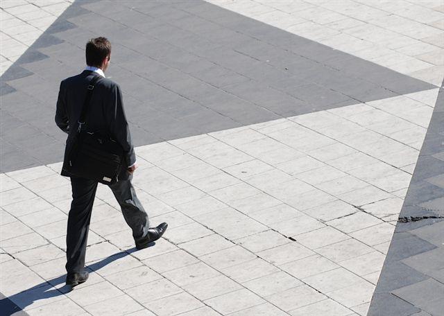 Lone-Man-walking