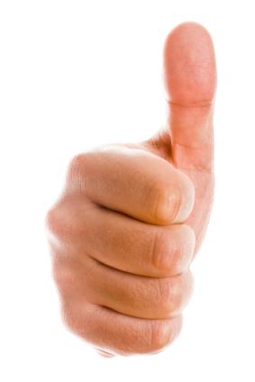 thumb-up-single-hand-istock