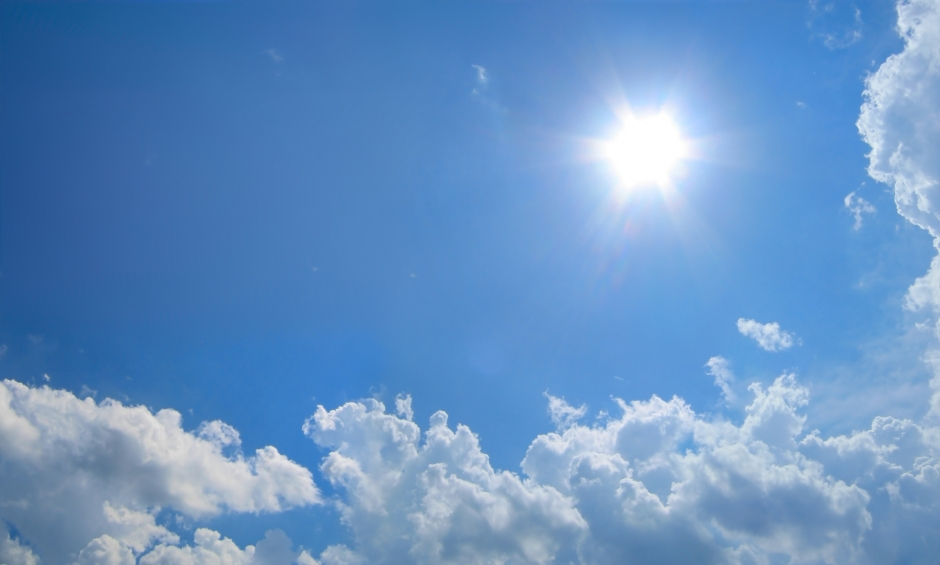 blue-sky-with-sun
