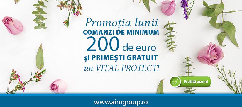 - primesti un Vital Protect GRATUIT la comenzi de peste 900 lei - primesti un Vital Protect Home GRATUIT la comenzi de peste 1200 lei