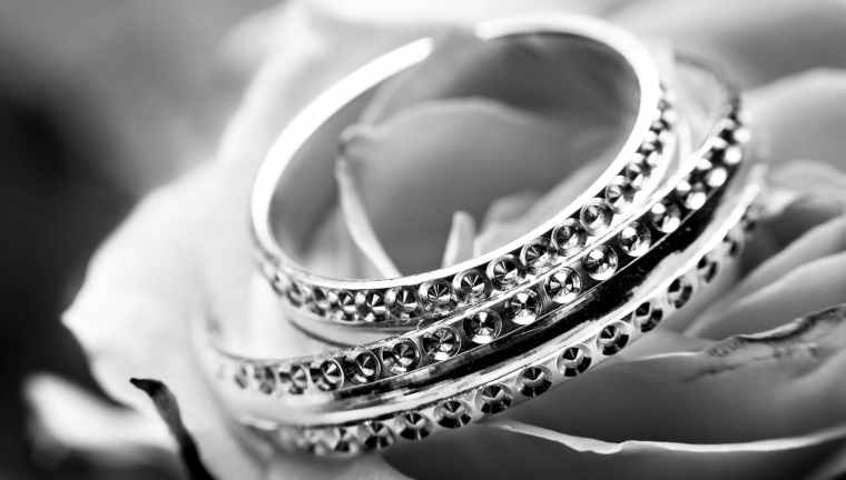 black and white close up jewellery jewelry